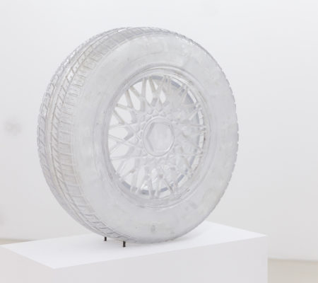 Matthew Darbyshire, Radiograph No.3 - BMW E30 Wheel (Caressed by Roxman Gatt)