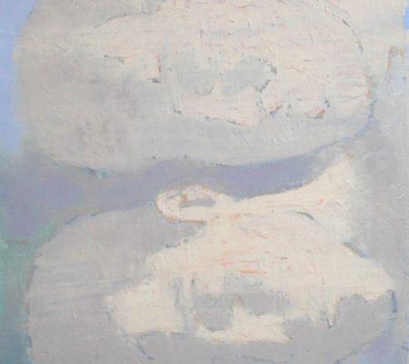 Simon Martin, Amoureux rétro-éclairés, 2018, huile sur toile,35 x 27,5 cm_v2
