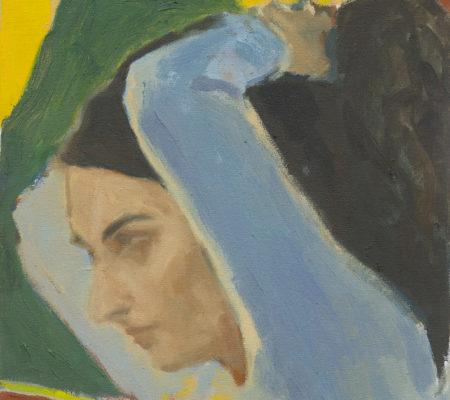 "Christine Safa, ""Autoportrait"""