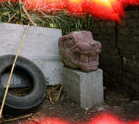 Louidgi Beltrame, Jaguar Chavín en el patio