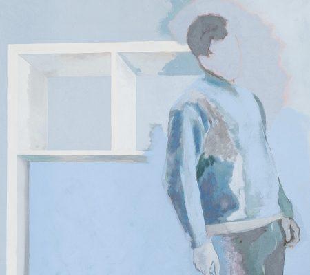Simon Martin, KALLAX, 2018, huile sur toile, 162 x 114 cm_web