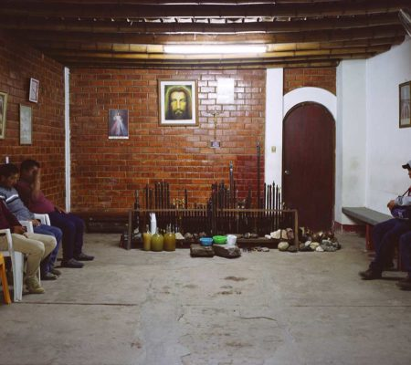 Louidgi Beltrame, Mesa en Grocio Prado, Chincha