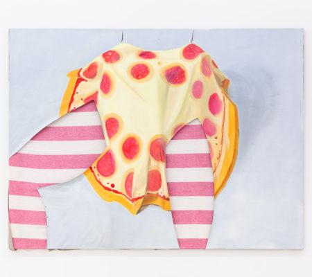 "Madeleine Roger-Lacan, ""Homme Pizza (érection)"""