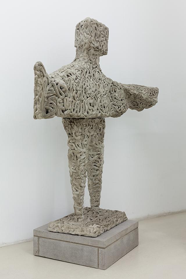 Matthew Darbyshire Xerox No.25 – Lynn Chadwick Winged Figure