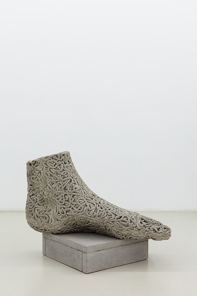 Matthew Darbyshire Xerox No.26 – Anatomical Votive (foot)