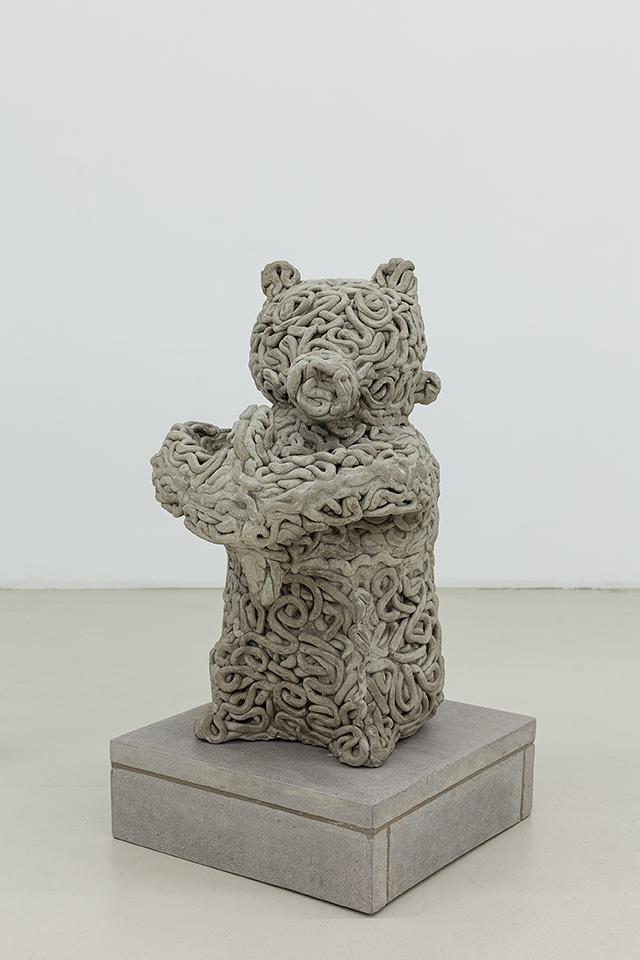 Matthew Darbyshire Xerox No.28 – Bear