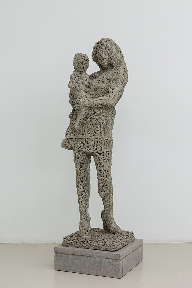 Matthew Darbyshire Xerox No.29 – Mother and Child