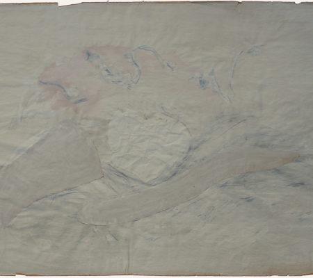 1956 gouache, feutre, collage sur papier - 64 x 100 cm