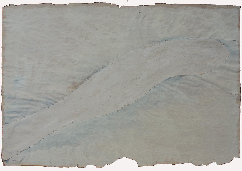 1956 gouache, collage sur papier - 64 x 93 cm