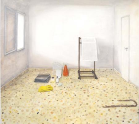 Arad, version 2, 2019, huile sur toile, 142x129cm