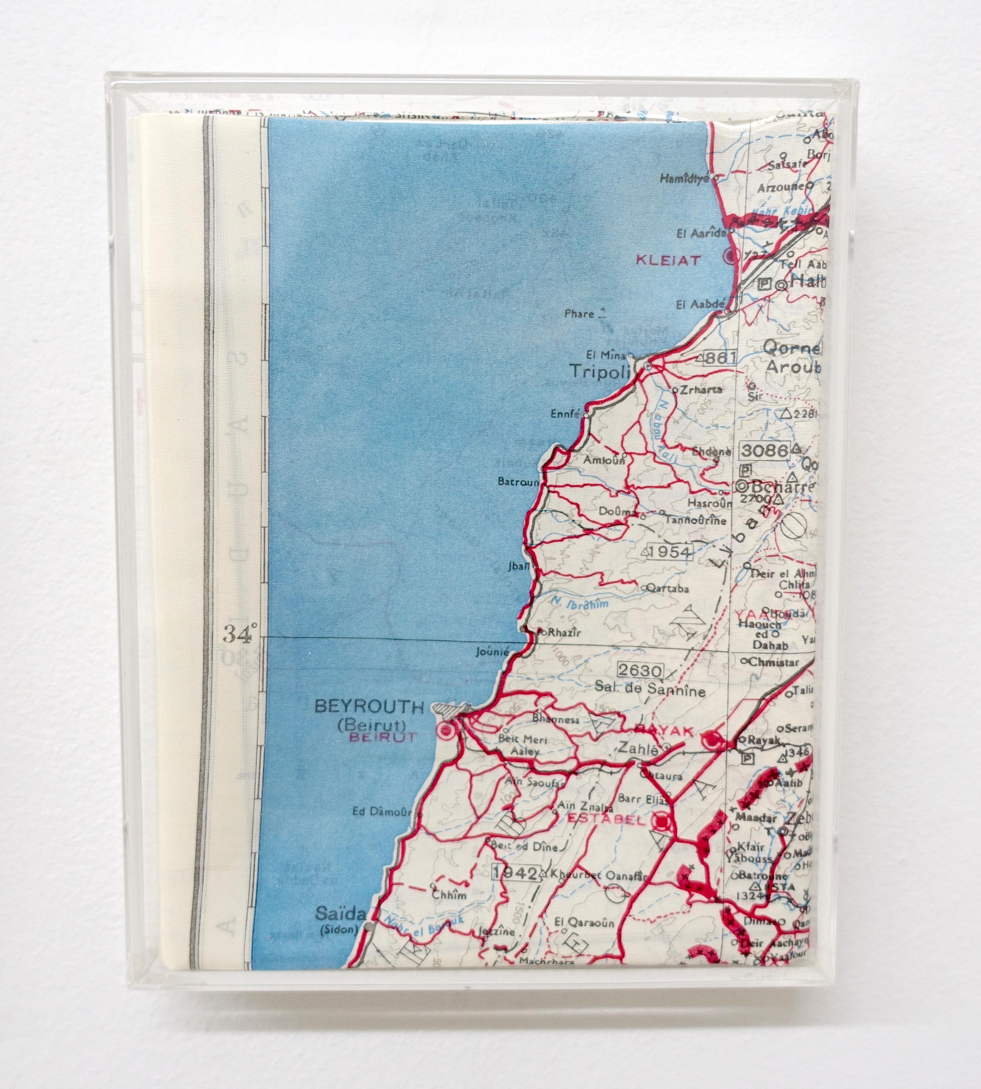 Benassi, (Mouchoirs) S'échapper Méditerranée, 2015, 4 éléments