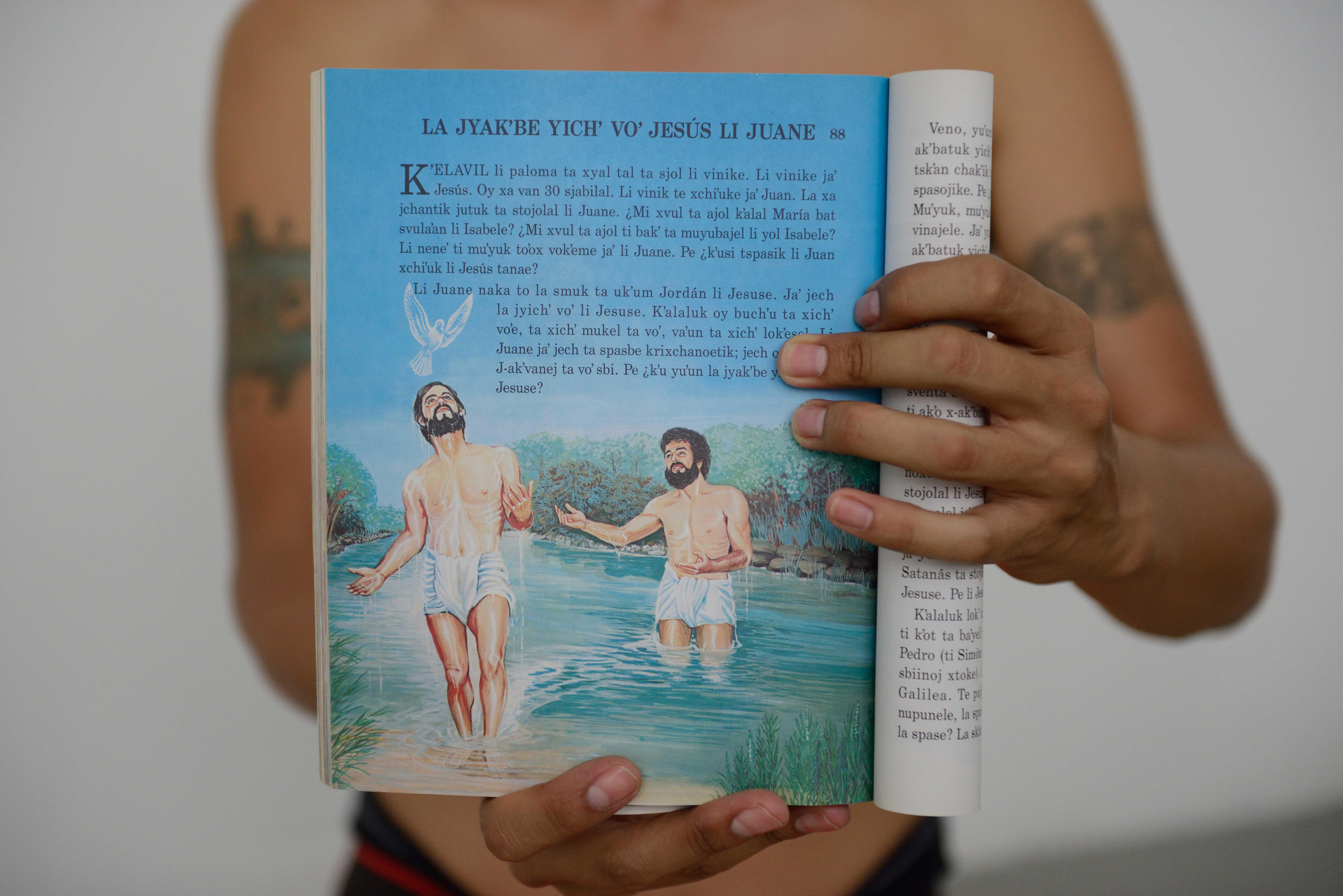 Clarisse Hahn, L'eau du Jourdain , 2017-2018, série NATÜR (invented Edens), tirage argentique couleur contrecollé sur aluminium, 80 x 120 cm