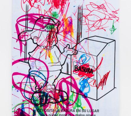 Clarisse Hahn, Basura, série Seguridad y Salud, 2020, impression sur papier mat