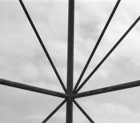 """Rometti Costales, """"Intersecting Logical or Transversal Intersection Geometrically Equal to a Superset of Division Times Approaches the Limit of Incomplete Infinity"""", 2013, 7 impressions photographiques noir & blanc,55 x 40 cm"""
