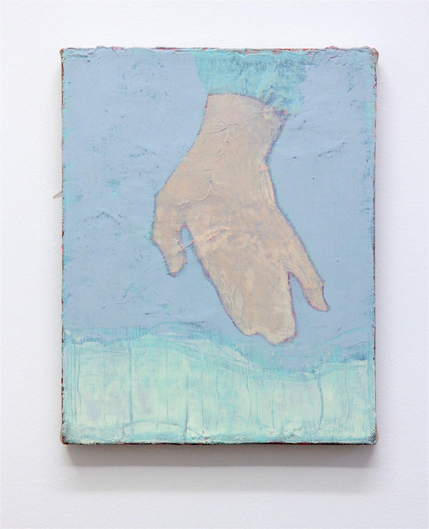 Simon Martin, Main épaisse, 2018, huile sur toile, 24 x 19 cm_v2_web