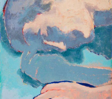 Simon Martin, Sans titre (sommeil), 2019, huile sur toile, 35 x 27 cm_web
