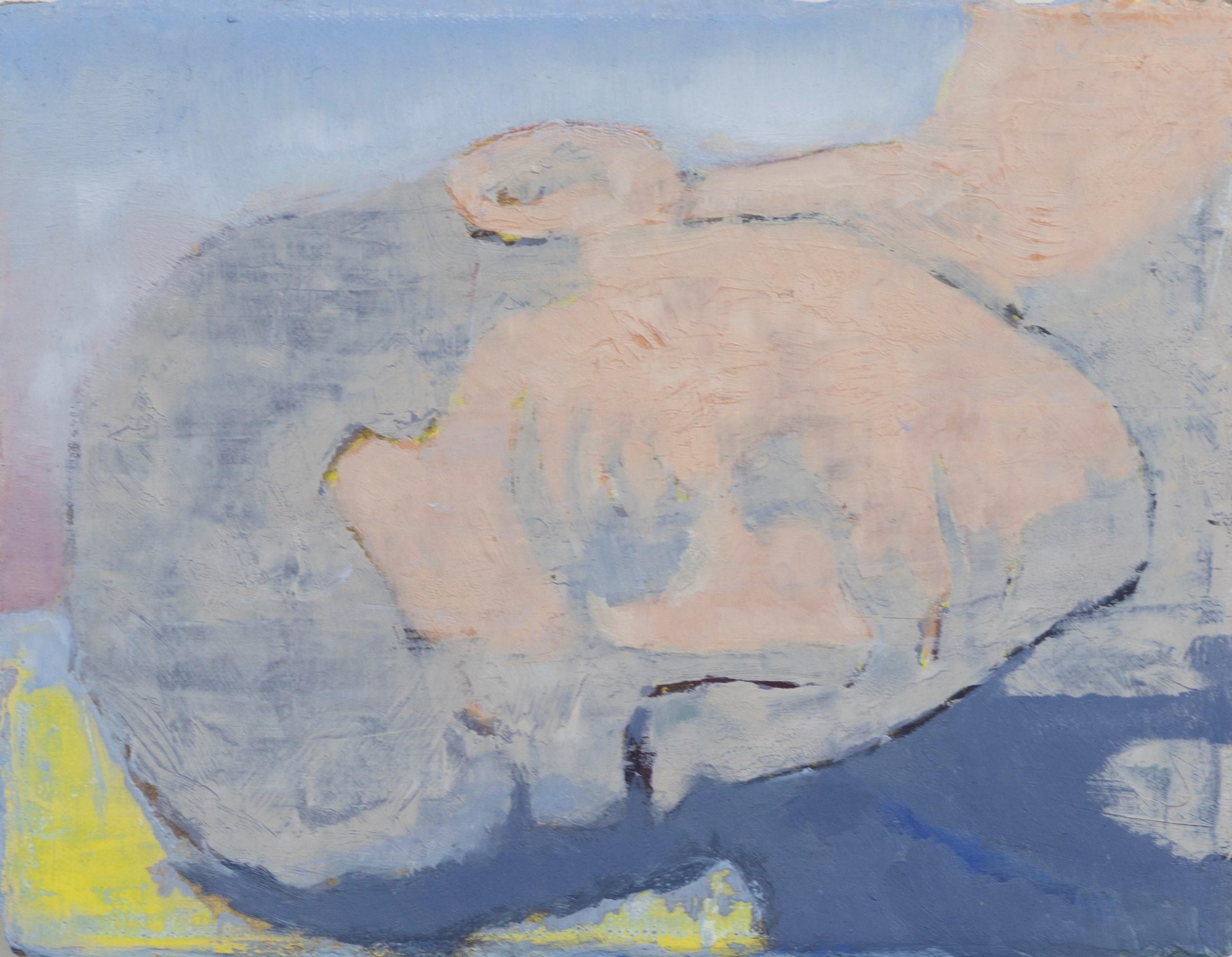Simon Martin, Sommeil, Bercy, 2018, huile sur toile, 18 x 24 cm_v2
