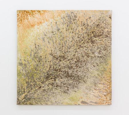 """Clément Borderie, toile produite par la matrice """"Mère supérieure"""", toile de coton brut, 180 x 80 cm"""
