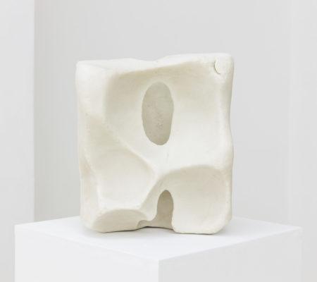 Clément Borderie, Pierre de sel, 2005-2011, sel, 25 x 22 x 21 cm