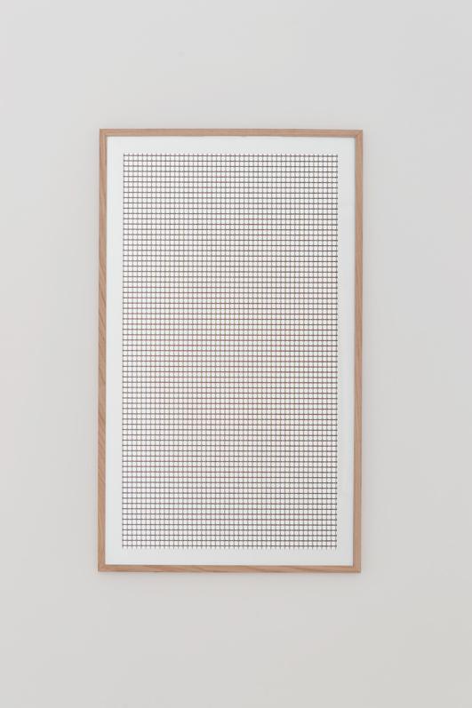 Jennifer Caubet, Constellation dérivée #3, 2012, sérigraphie, 120 x 70 cm