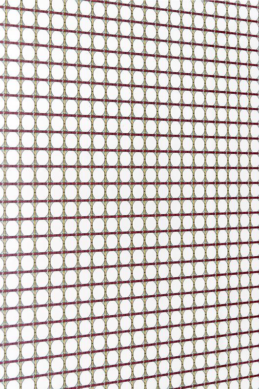 Jennifer Caubet, Constellation dérivée #1, détail, 2012, sérigraphie, 120 x 70 cm