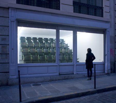 """Martin Le Chevallier, """"Solipsisme"""", 2011, installation in situ à la galerie Jousse Entreprise - galerie Jousse entreprise"""