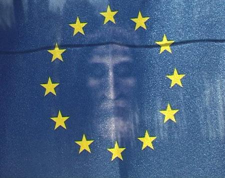 """Martin Le Chevallier, """"The Holy Flag"""", 2009,performance et vidéo- galerie Jousse Entreprise"""