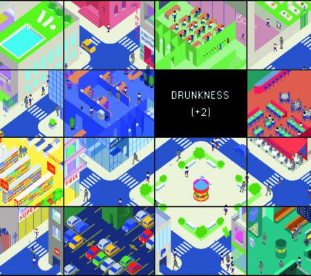"""Martin Le Chevallier, """"Vigilance 1.0"""", 2001, jeu de vidéosurveillance (jeu vidéo)"""