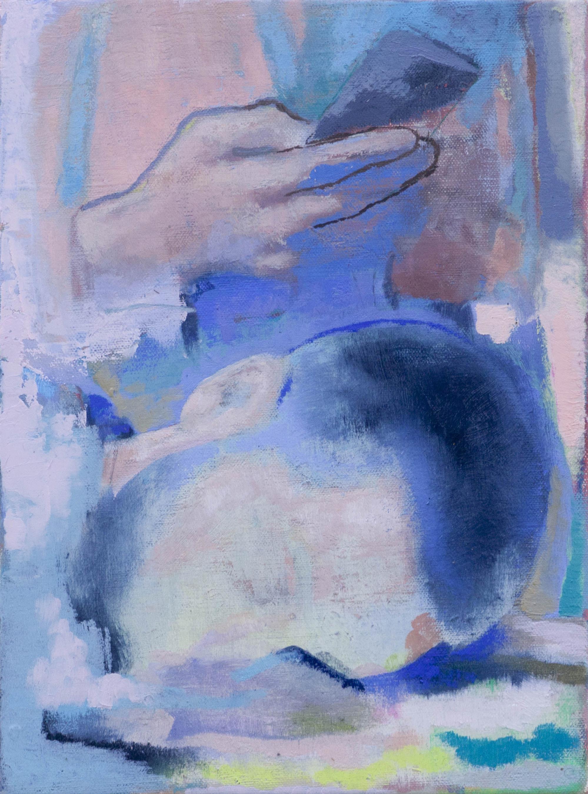 Prends moi en photo, 2020, huile sur toile, 33 x 25 cm_photo Julie Coulon_web_1