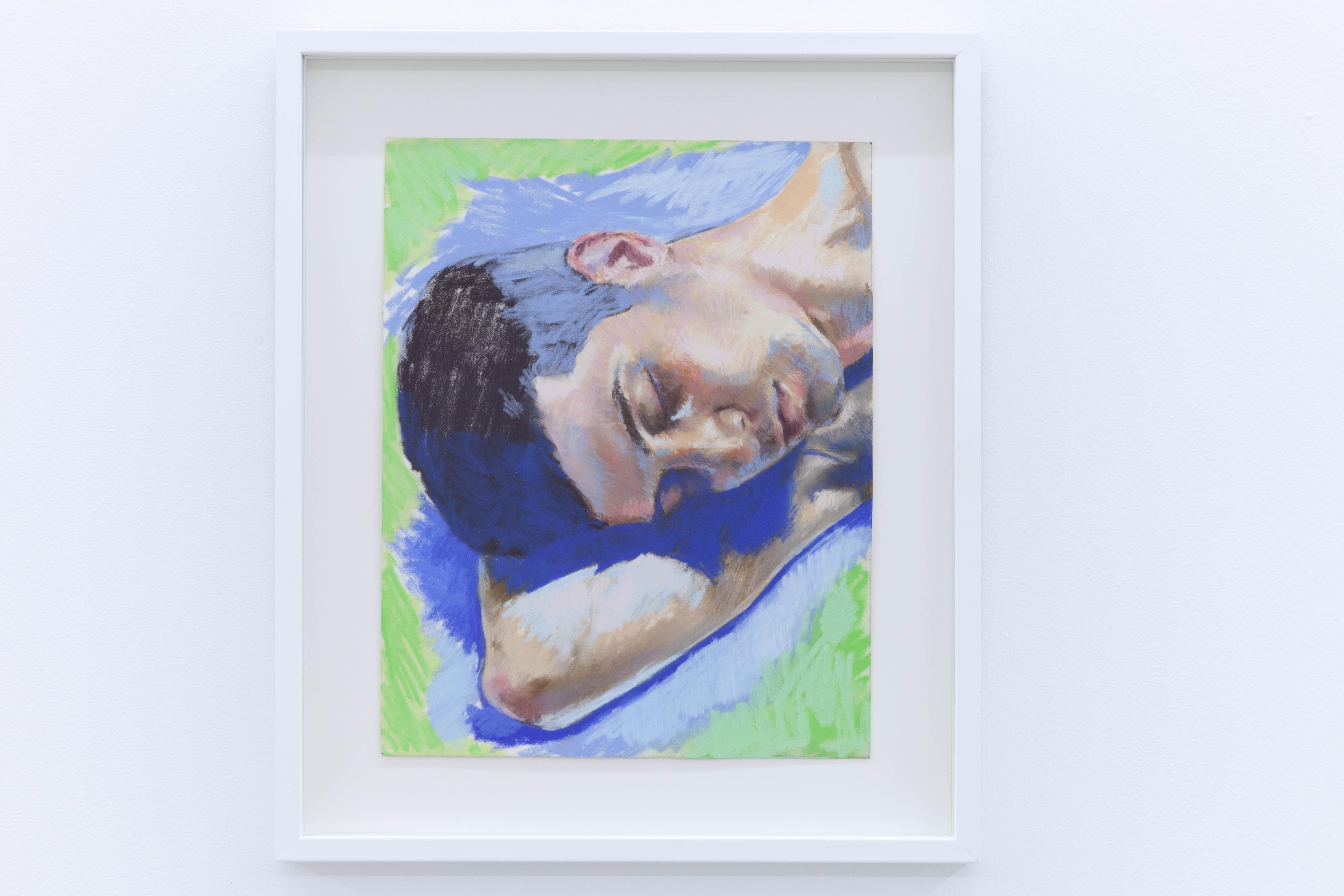 Sabrine, étude, 2020, pastel sec sur papier, 24 x 19 cm_photo Julie Coulon_web_2