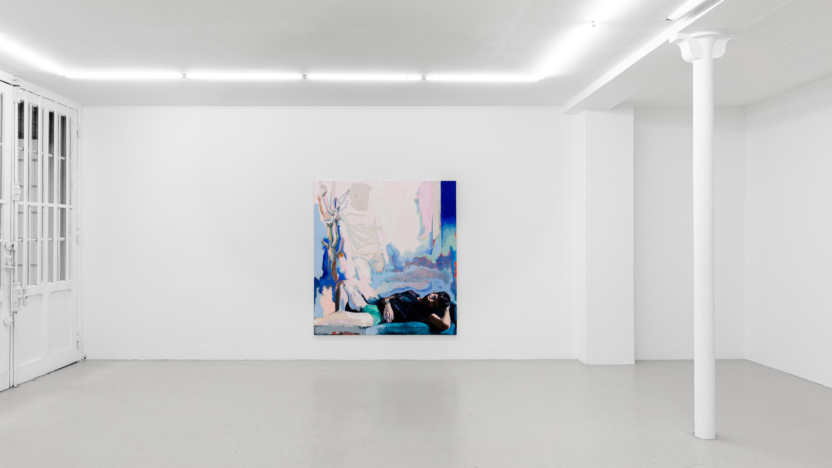 Simon Martin_14h sur le lit_2020_GalerieJousseEntreprise_photo Grégory Copitet_web_2