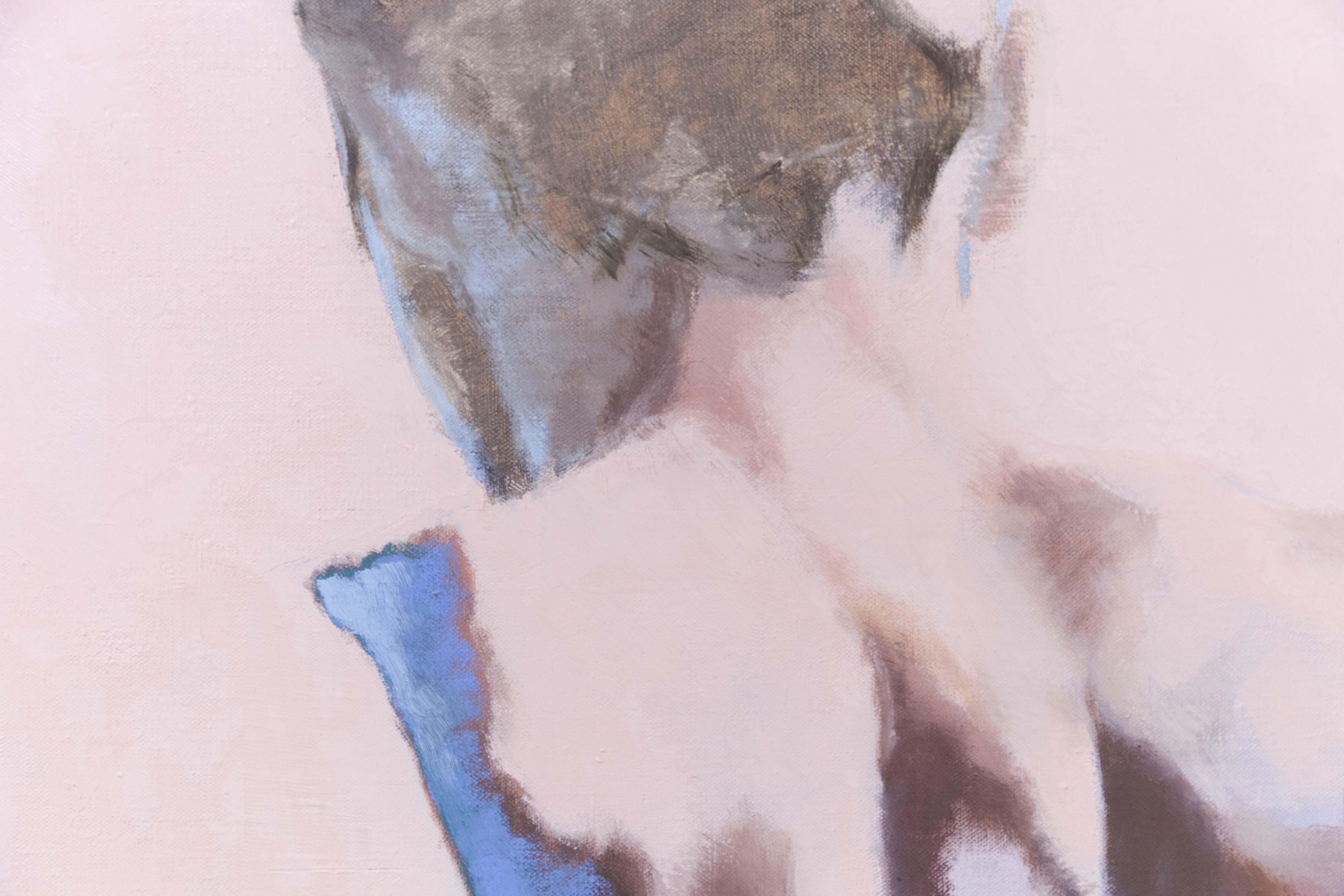 Ton corps s'illumine de l'écume des écrans, 2020, huile sur toile, 130 x 97 cm_photo Julie Coulon_web_5