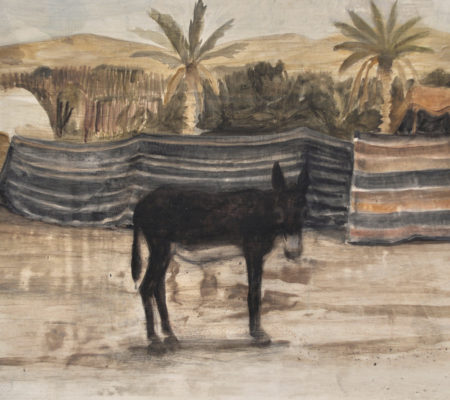 Hamor, 2018, 24 x 19 cm, huile sur bois_web