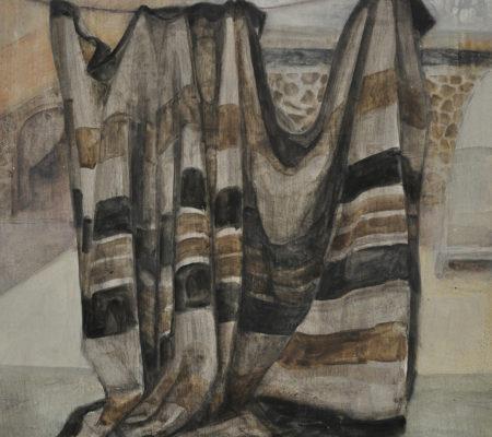 Kfar Hanokdim, 33 x 41 cm , huile sur bois_web