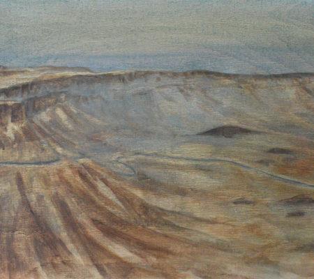 Machtech Ramon, 2017, 33 x 41,5 cm, huile sur bois_web