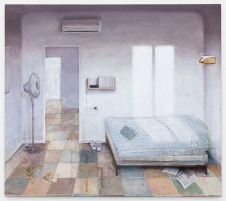 His Room,160x180cm, huile sur toile_web