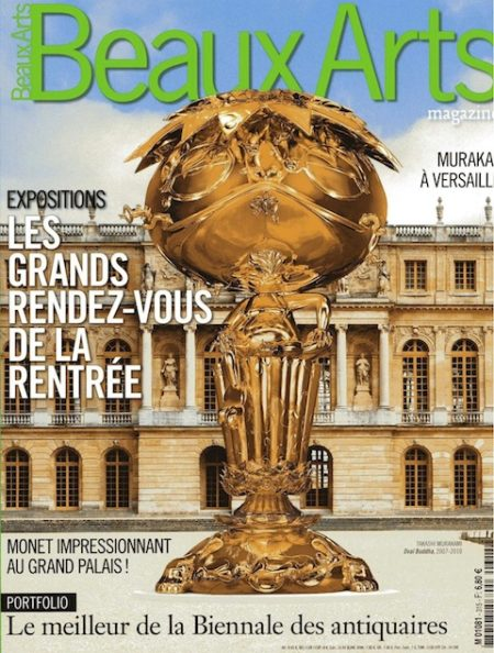 paulin_Beaux-Arts Magazine 2010-Paulin-couv