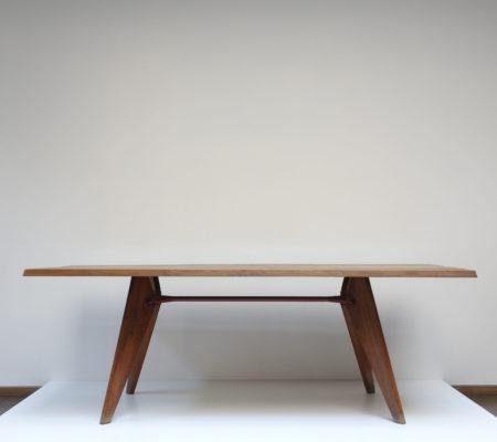 jean_prouve_table_entretoise_rouge